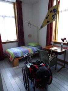 mijn slaapkamer bij Casella