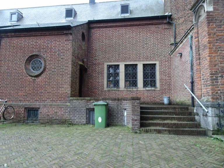 Roermond kathedraal achterkant