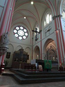 De katholieke St. Barbarakerk in Culemborg,