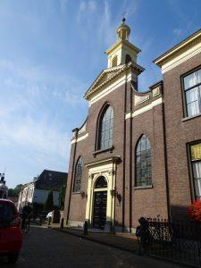stempel gehaald in de kerk in Zaltbommel