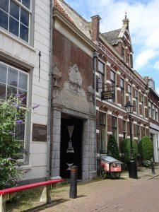 voordat ik ui Zaltbommel vertrok nog even naar het weeshuismuseum geweest.