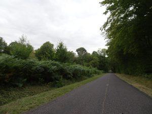 Epernay - Montmort Lucy bos weg