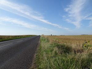 Montmort-Lucy - Sezanne, onderweg