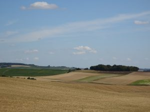 Montmort-Lucy - Sezanne, heuvels