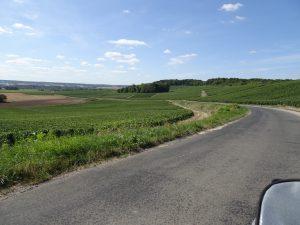 Montmort-Lucy - Sezanne, onderweg 1