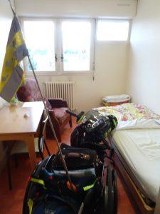 Sezanne naar Mery sur Seine - kloosterbejaahdenhuis slaapkamer 2
