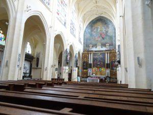Sezanne naar Mery sur Seine kerk binnen