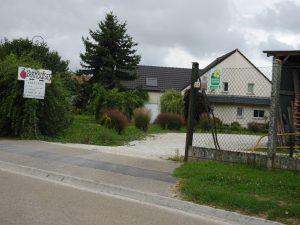 Sezanne naar Mery sur Seine frambozenboerderij 2