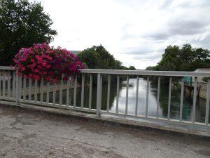 Sezanne naar Mery sur Seine bruggetje, seine