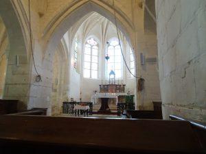 Sezanne naar Mery sur Seine kerk waar ik heen ging met broeder en priester van Marianisten