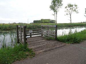 Mery-sur-Seine naar Troyes kanaal rolstoeltoegaokelijke visstijgen 2