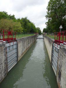 Mery-sur-Seine naar Troyes kanaal sluis
