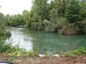 Mery-sur-Seine naar Troyes kanaal /rivier seine