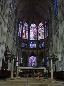Mery-sur-Seine naar Troyes, troyes kerk binnen