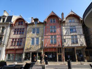 Mery-sur-Seine naar Troyes, troyes vakwerkhuis 5