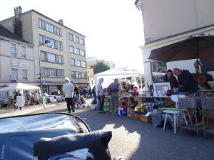 Mery-sur-Seine naar Troyes, troyes  rommelmarkt 1