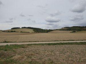 Troyes naar Sommeval akkers