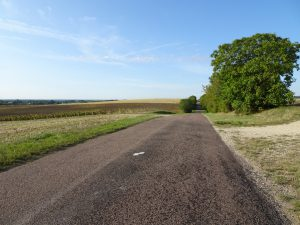 Sommeval naar Flogny-la-chapelle onderweg