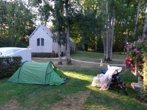 Chablis naar Accolay camping chablis