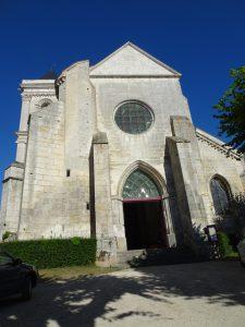 Chablis naar Accolay kerk