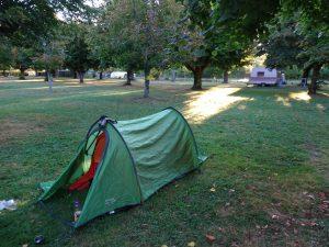 Chablis naar Accolay camping voor mijzelf