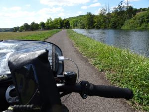 Accolay naar Châtel Censoir kanaal onderweg