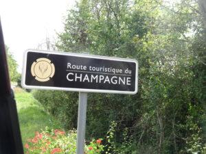 route champagne frankrijk