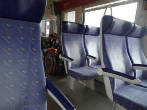 frankrijk trein rolstoel Challon naar  dijon