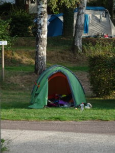 tent avallon camping