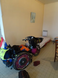 herberg binnen rolstoel Marigny-l'Eglise