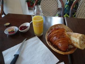 Marigny-l'Eglise ontbijt