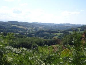 uitzicht Marigny-l'Eglise naar brassy