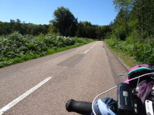 onderweg, bos Brassy naar Planchez