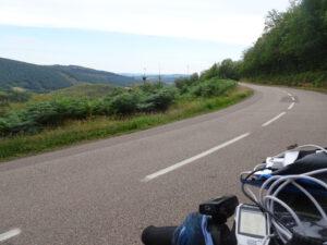 onderweg Arleuf naar Larochemillay