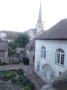 uitzicht kamer overdag bisschoppelijk paleis