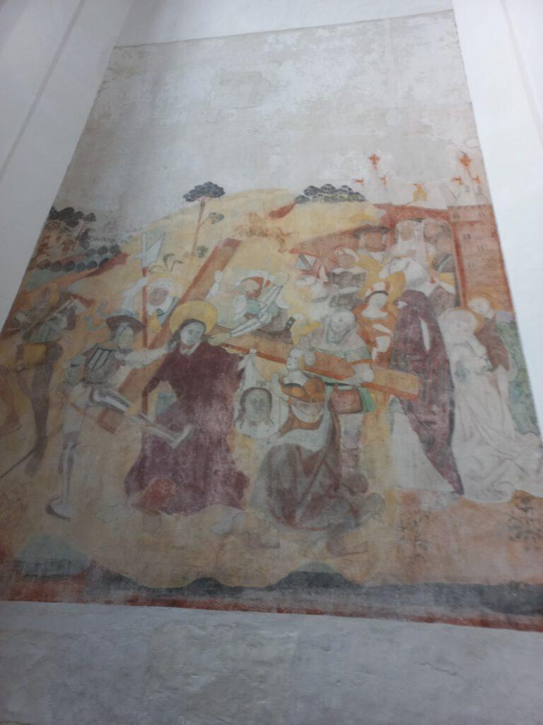 Lebuiniuskerk wandschildering